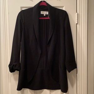 Daniel Rainn Black Oversized Blazer